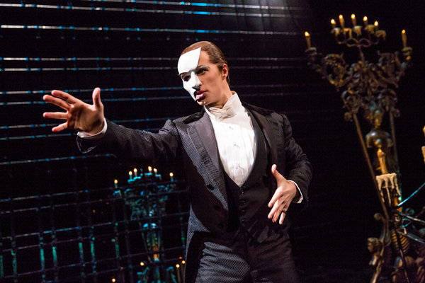 Photo Flash: New Man in the Mask! First Look at Laird Mackintosh in THE PHANTOM OF THE OPERA