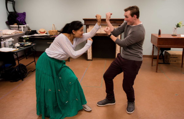 Photo Flash: Inside Rehearsal for LITTLE WOMEN At The Barn Stage Company