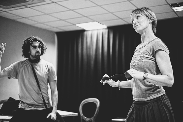 Photo Flash: First Look at Rehearsal for THE TOYBOY DIARIES