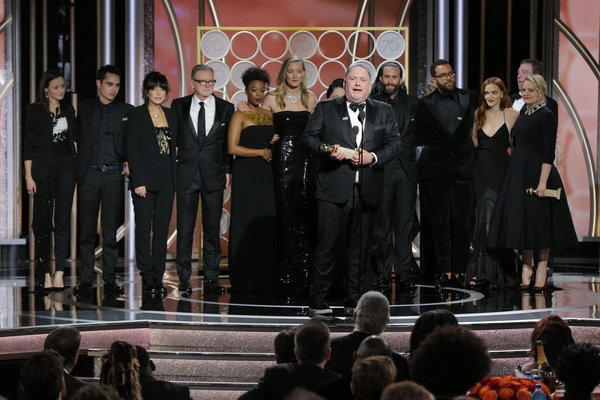 """75th ANNUAL GOLDEN GLOBE AWARDS -- Pictured: Bruce Miller, Producer/Writer, Â""""The  Photo"""