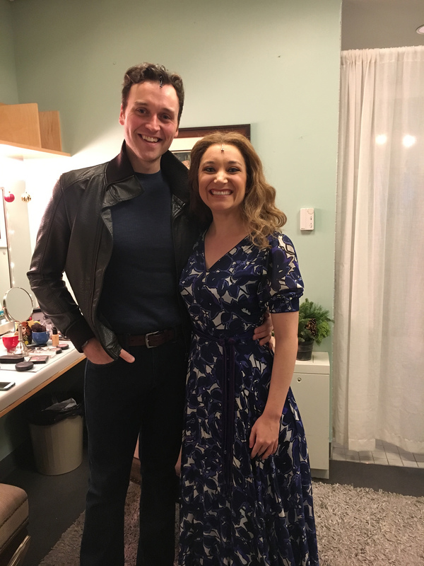 Photo Flash: Real Life Married Laurel Harris and Rob Marnell  Couple Go On as Carole and Gerry in BEAUTIFUL