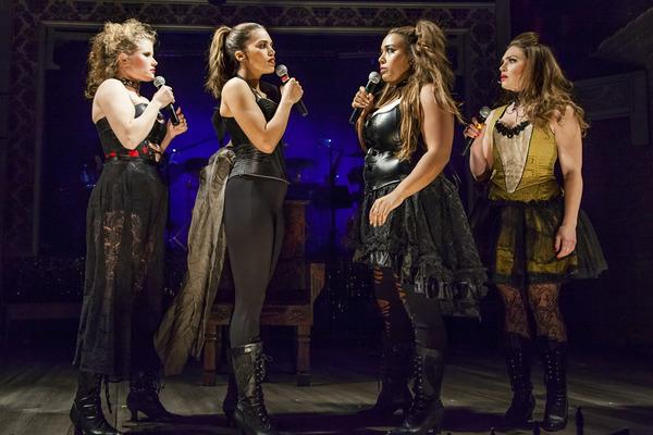 Liz Chidester, Ciara Renée, Leah Davis and Jacquelyne Jones