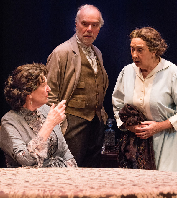 Jill Tanner, Ken Marks and Sandra Shipley in HINDLE WAKES by Stanley Houghton, Direct Photo