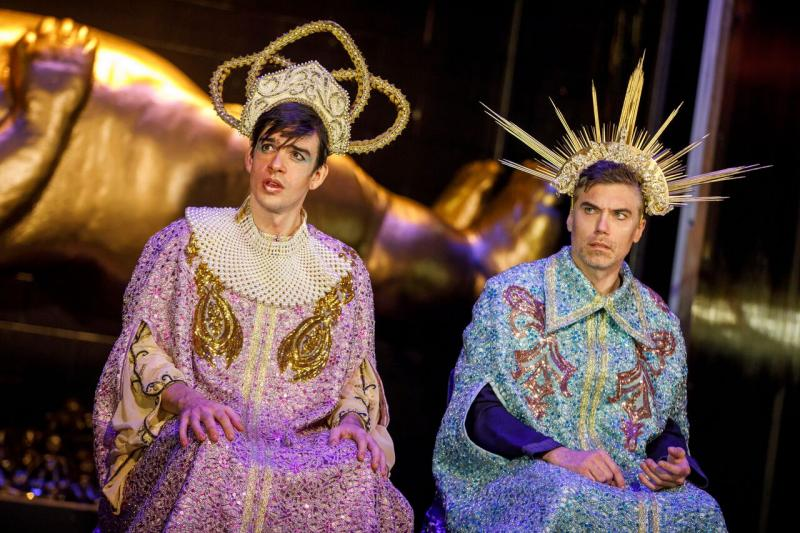 BWW Review:  Men Worship Extinct Women in Robert O'Hara's Audacious Satire MANKIND