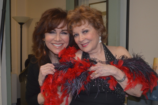 Debbie Gravitte and Anita Gillette
