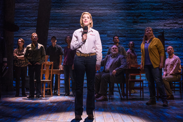 Steffi DiDomenicantonio and the cast of COME FROM AWAY Photo