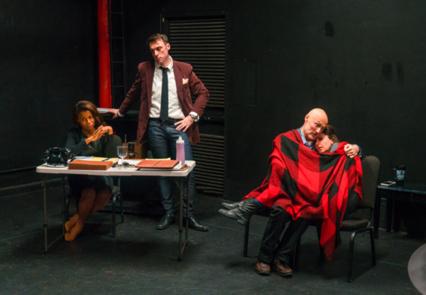 Photo Flash: In Rehearsal with TRIAL, a New Play Directed by Lori Petty