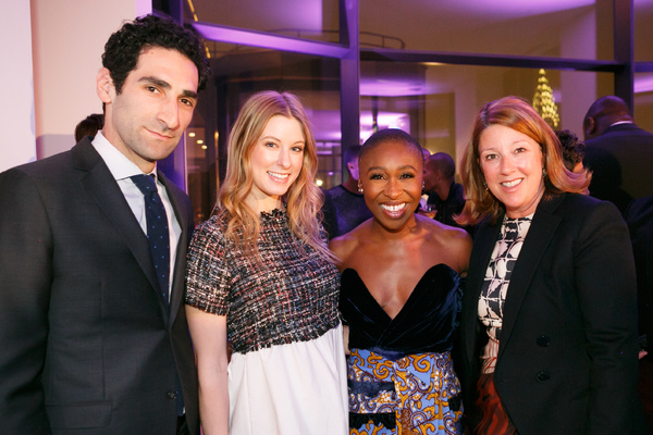 Matt Lobron, Jill Mangon, Cynthia Erivo, and Melissa Perry of  Zeckendorf Management and Global Holdings