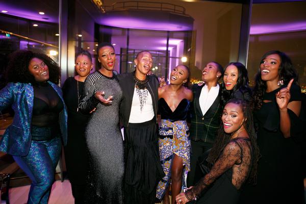 Photo Flash: Cynthia Erivo Celebrates Her Birthday with Leslie Odom Jr., Nicolette Robinson, and More