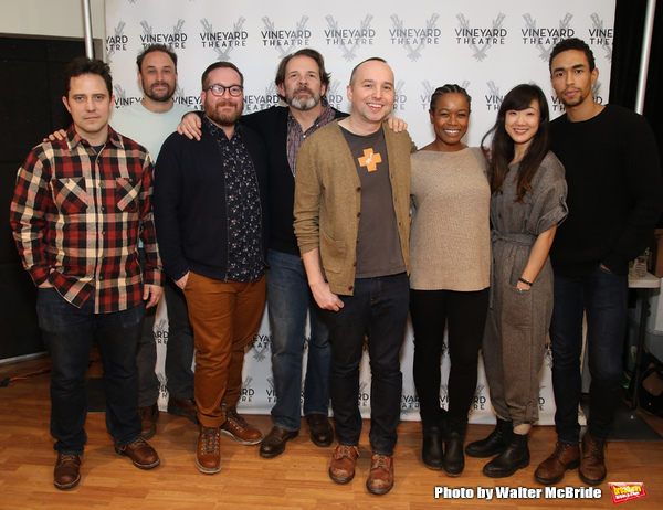 Photo Coverage: Meet the Company of Vineyard Theatre's THE AMATEURS