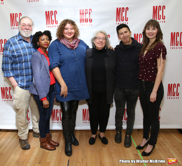 Richard Masur, Pascale Armand, Liesl Tommy, Jayne Houdyshell, J.C. Lee and Molly Camp