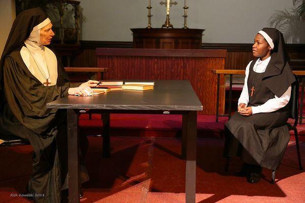 PennyLynn White as Mother Superior and Ashleigh Awusie as Mary Azu