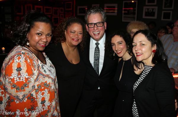 Alisha de Haas, Natalie Douglas, Billy Stritch, Gabrielle Stravelli, Mary Foster Conk Photo