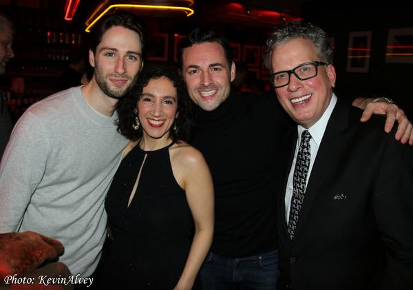 Daniel Rowan, Gabrielle Stravelli, Billy Stritch