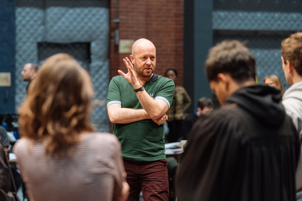 Photo Flash: The Magic Begins! HARRY POTTER AND THE CURSED CHILD Starts Rehearsals
