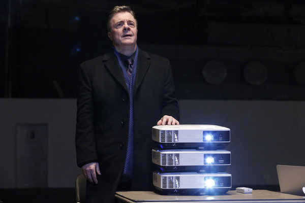 """THE BLACKLIST -- """"Abraham Stern (#100)"""" Episode 511 -- Pictured: Nathan Lane as Abraham Stern -- (Photo by: Will Hart/NBC)"""