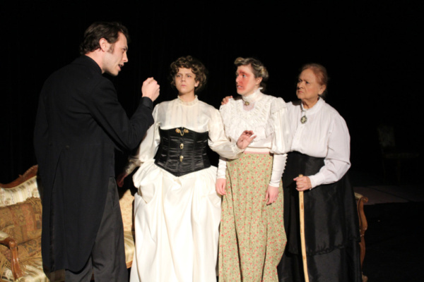 Photo Flash: Cone Man Running Presents THE THREE LADIES OF ORPINGTON