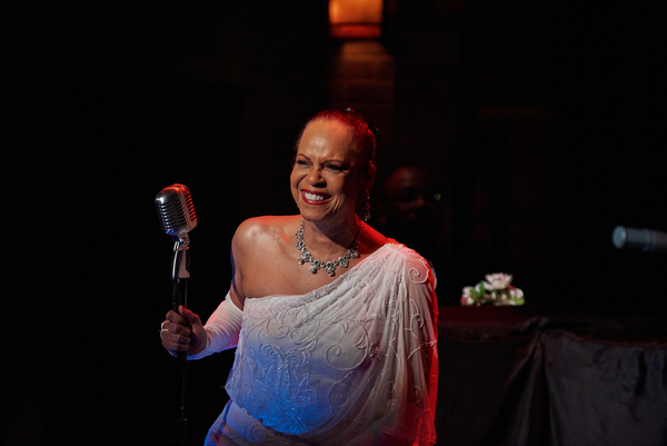 Terry Burrell (Billie Holiday) in LADY DAY (photo by Christopher Bartelski)