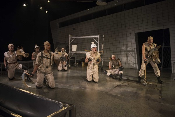 Milwaukee Repertory Theater presents Animal Farm in the Quadracci Powerhouse from Ja Photo