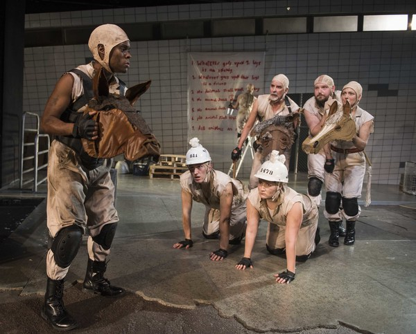 Milwaukee Repertory Theater presents Animal Farm in the Quadracci Powerhouse from Ja Photo