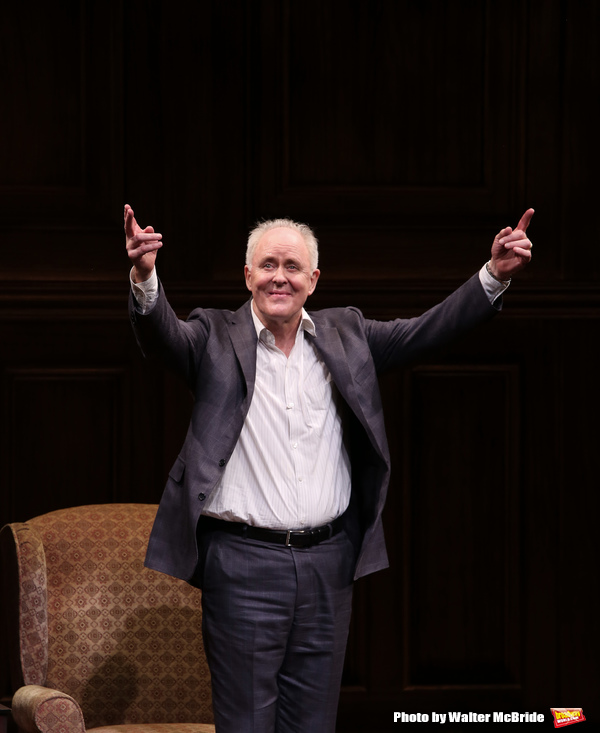 Photo Coverage: John Lithgow Takes Opening Night Bow in STORIES BY HEART