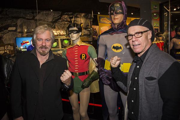 Photo Flash: Original Cast of BATMAN '66 Attends Opening of Retrospective Exhibit