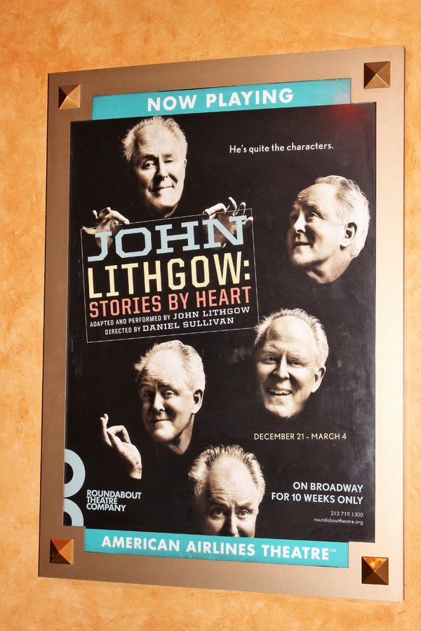 Opening Night John Lithgow: Stories  By Heart