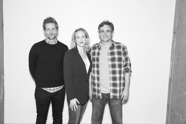 Paul Sparks, Katie Finneran, and Robert Sean Leonard