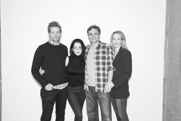 Paul Sparks, Director Lila Neugebauer, Robert Sean Leonard, and Katie Finneran