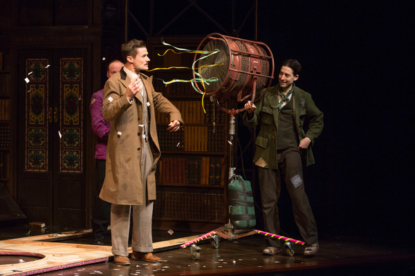 The Play That Goes Wrong stars Jonathan Fielding, Mark Evans and Alex Mandell are blo Photo