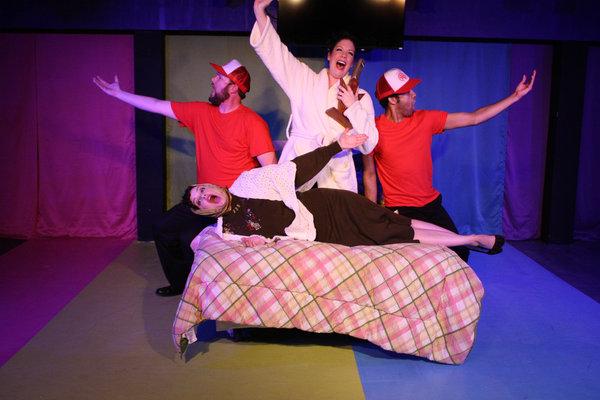 L-R: Greg Hullett, Janelle Lutz, Liz J. Millea and Aaron Green.