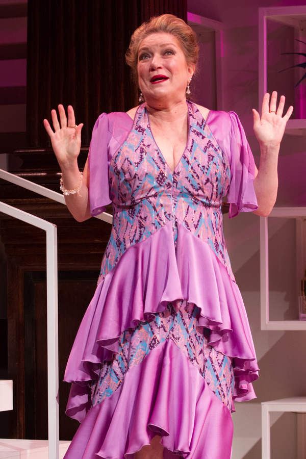 Kristine Nielsen stars as the ever-watchful Aunt Rene in Theresa Rebeck's comedy The Way of the World at Folger Theatre