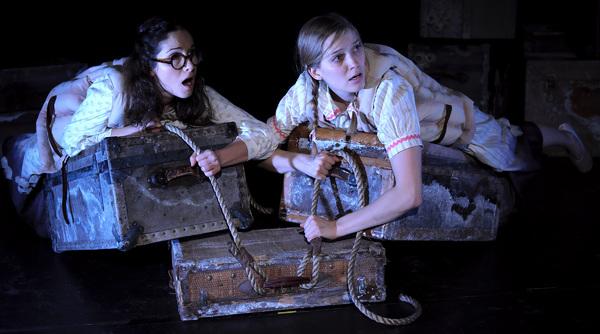 Kayla Lian (Bess) & Britt Harris (Beth)