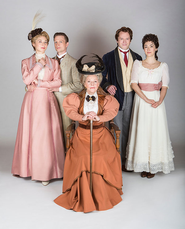 (from left) Kate Abbruzzese  Matt Schwader, Helen Carey , Christian Conn and Helen Cespedes