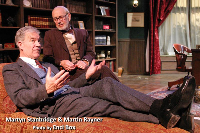 BWW Review: FREUD'S LAST SESSION - Verbal Sparring At Its Apex