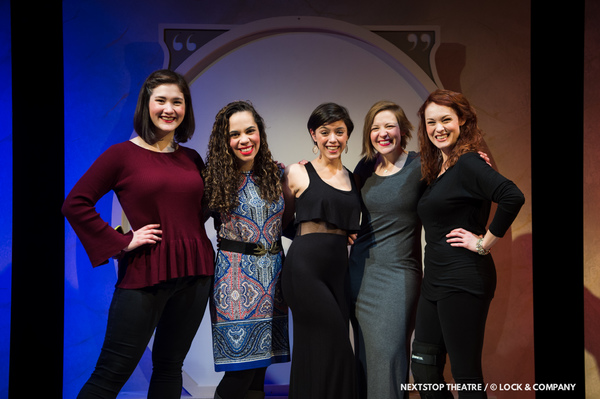 Sarah Anne Sillers, Chloe Mikala, Brittany Martz, Mary Myers, and Carolyn Kashner