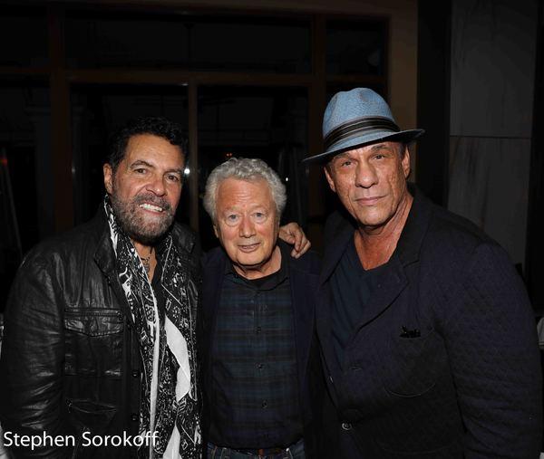 Clint Holmes, Stephen Sorokoff, Robert Davi