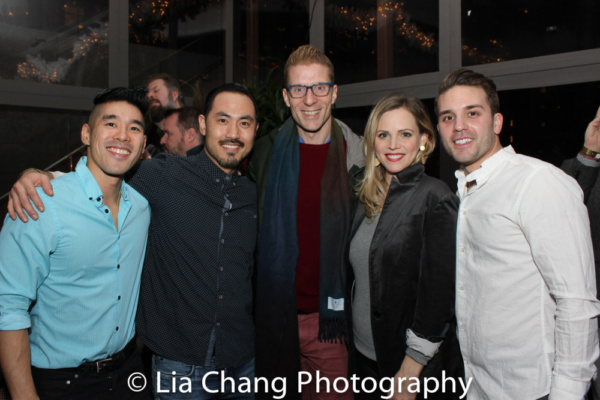 An ALLEGIANCE Reunion with Chris Kong, Marcus Choi, Producer Lorenzo Thione, Katie Ro Photo