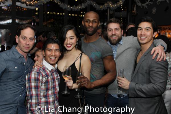 Garth Kravits, Christopher Vo, Tiffany Toh, Taurean Everett, a guest and Devin Ilaw