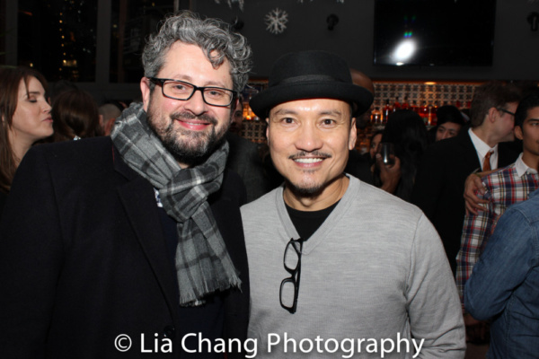Director Laurence Connor and Jon Jon Briones