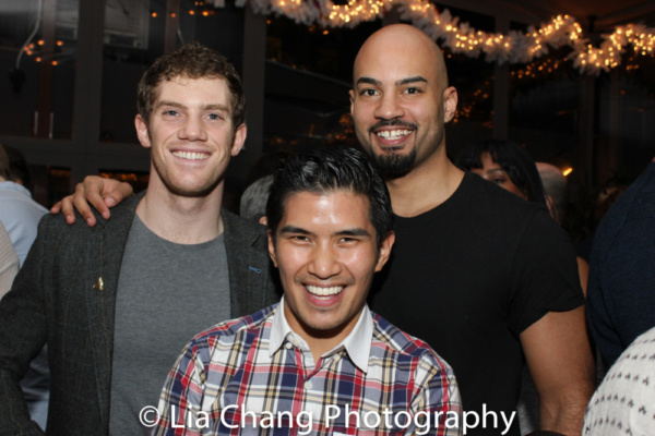 Alistair Brammer, Christopher Vo, Nicholas Christopher Photo