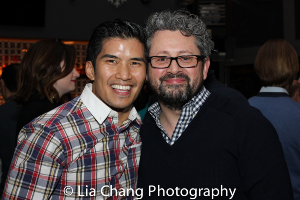 Christopher Vo and Director Laurence Connor  Photo