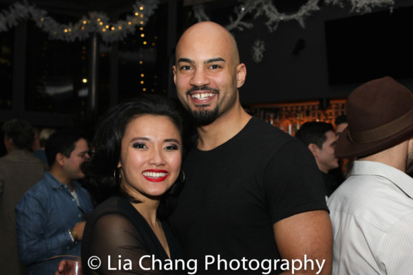 Dorcas Leung and Nicholas Christopher, from MISS SAIGON to the second national tour of HAMILTON
