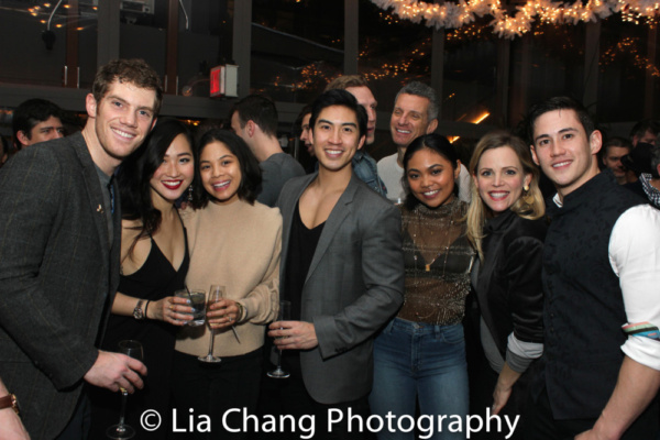 Alistair Brammer, Tiffany Toh, Eva Noblezada, Devin Ilaw, Linah Sta. Ana, Katie Rose  Photo