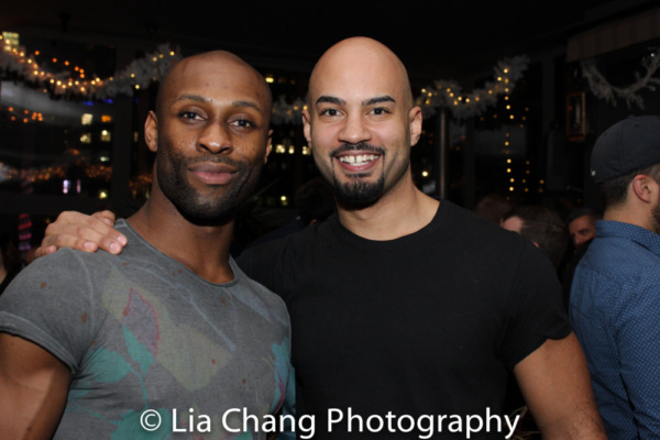 Taurean Everett and Nicholas Christopher Photo