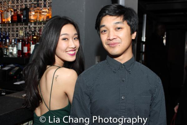 Viveca Chow and Julian DeGuzman  Photo