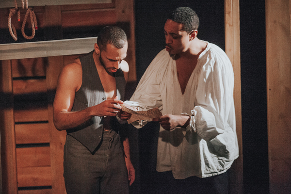 Nathaniel Andrew (Hammet) and Breon Arzell (Ron)