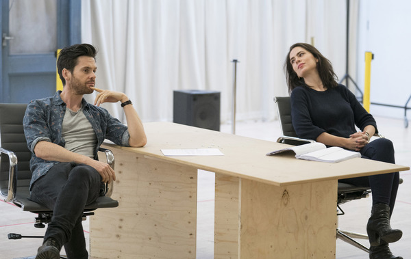 Tom Riley (Seth) and Hayley Atwell (Jenny)