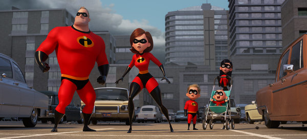 "SUPER FAMILY -- In Disney Pixar's ""Incredibles 2,� Helen (voice of Holly Hunter) is in the spotlight, while Bob (voice of Craig T. Nelson) navigates the day-to-day heroics of ""normal� life at home when a new villain hatches a brilliant and dange"