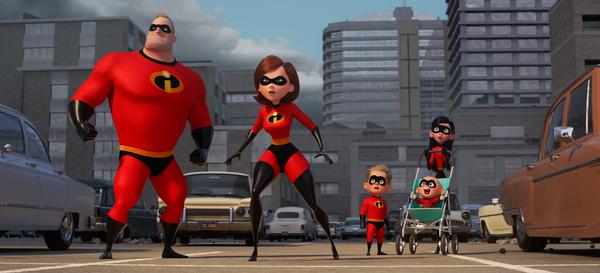 "SUPER FAMILY -- In Disney Pixar's �""Incredibles 2,"" Helen (voice of Photo"